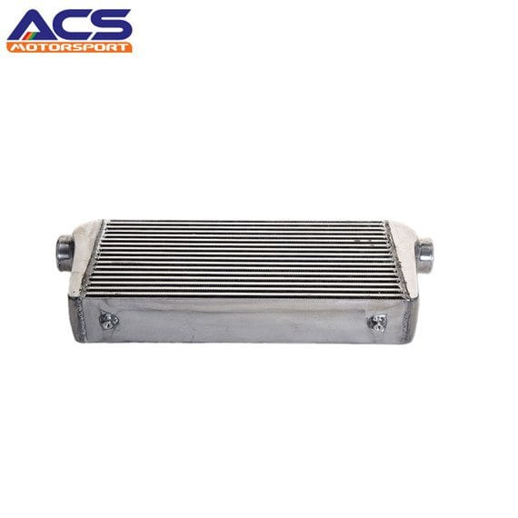 Air to air intercooler core size 600x300x100mm 3″ Inlet & Outlet