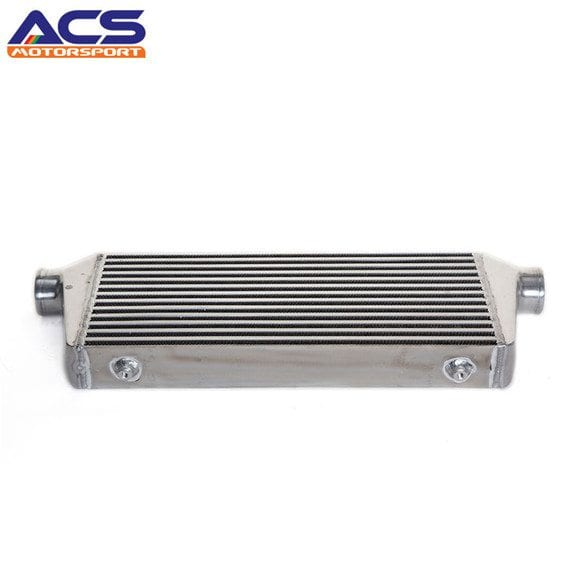 Air to air intercooler core size 520x230x65mm 2.5″ Inlet & Outlet