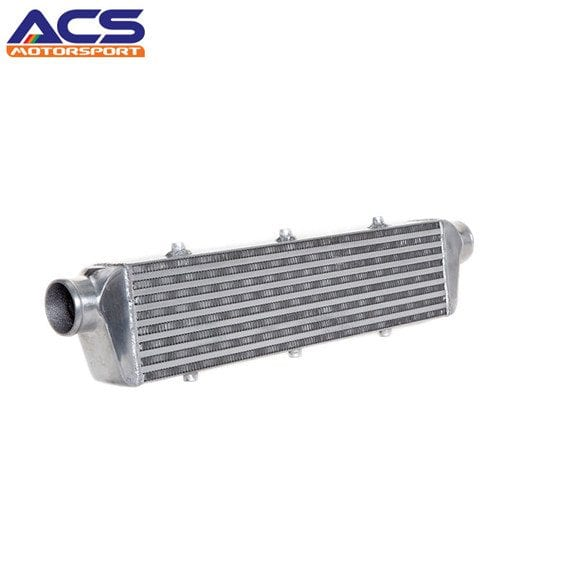 Air to air intercooler core size 550x140x65mm 2.5″ Inlet & Outlet