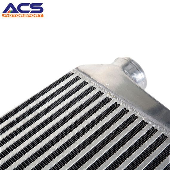 Bar and plate air to air intercooler core size 300*280*76mm 3″ Inlet & Outlet