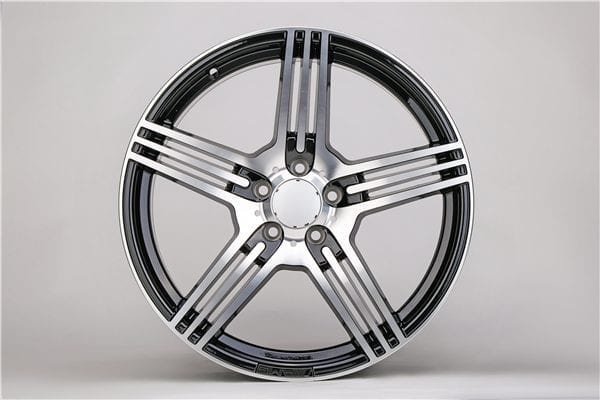 Replica Alloy Wheels, Wheel Rims 5 Hole Made in China Aluminium Alloy Wheels