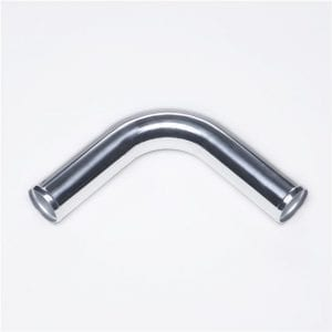 90 Degree Elbow Aluminum Turbo Intercooler Pipe Tube Length 450mm OD:63.5/2.5″