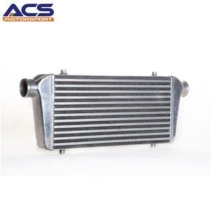 Bar and plate air to air intercooler core size 450*230*65mm 2.25″ Inlet & Outlet