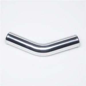 45 Degree Elbow Aluminum Turbo Intercooler Pipe Tube Length 450mm OD:76mm/3″