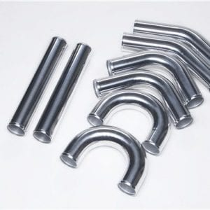 OD:76mm/3″ length 450mm aluminum intercooler piping kit
