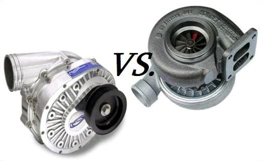 Forced Induction: Turbochargers vs. Superchargers