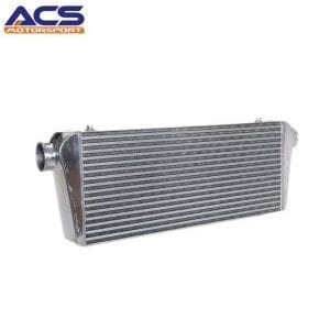 Air to air intercooler core size 700*300*100mm 3″ Inlet & Outlet