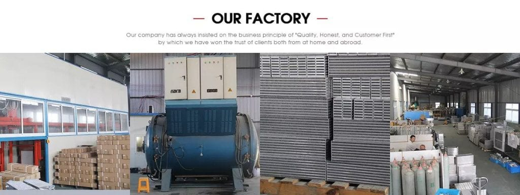 factory for water to air intercooler